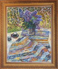nat_still-life_oil painting_9  spring bouqet